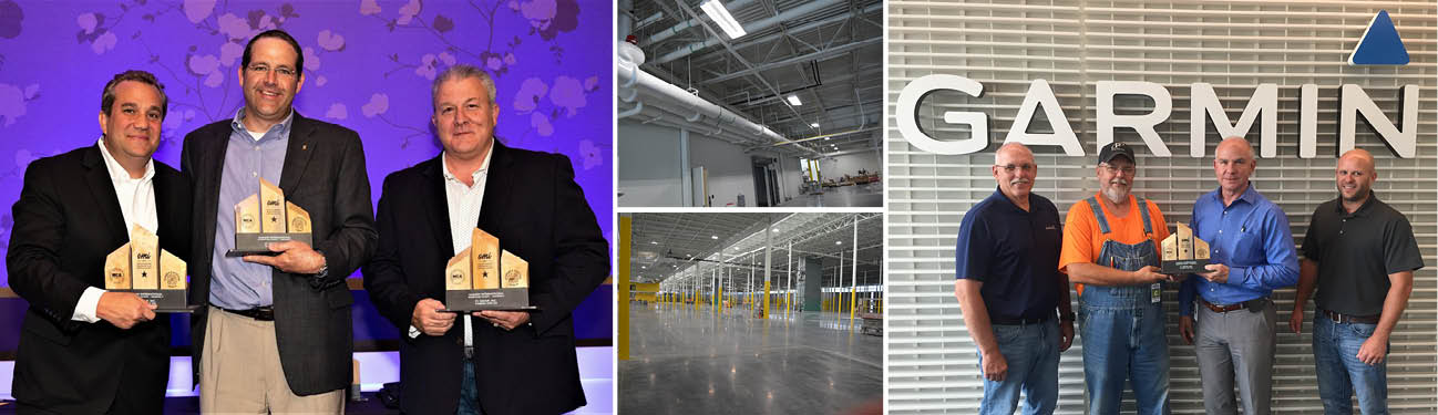 P1 Group Earns OMI Award for New Garmin Warehouse Work