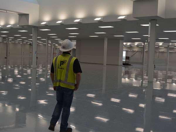 Commercial: Garmin - New Warehouse Project